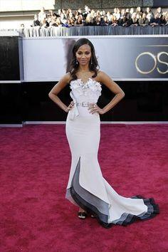 Oscars Worst Dressed: Zoe Saldana