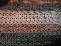 Ravelry: V-Stitch Throw pattern by Caron Design Team