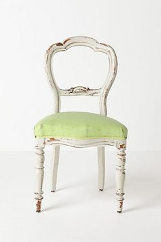 distressed chair for entry hall!