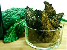 Savory Coconut Oil Kale Chips Recipe
