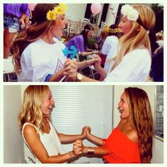 From bid day buddy to best friend! That's what DG is all about!