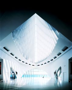 Windhover hall at the iconic Milwaukee Art Museum, where American Idol auditions took place!  #WhyHB