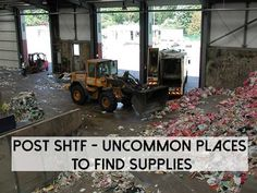 POST SHTF – Uncommon Places To Find Supplies - SHTF Preparedness find suppli, uncommon place, shtf preparedness