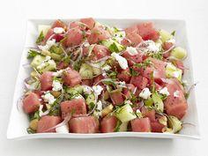 Watermelon-Cucumber Salad Recipe : Food Network Kitchen : Food Network - FoodNetwork.com