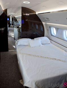 Everyone's Private Jet. www.flightpooling.com Private Jet Bed www.flightpooling.com