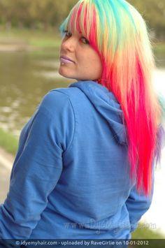 Colorful hair :)