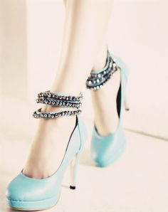 High-heel shoes