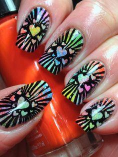 Canadian Nail Fanatic: Valentine #nail #nails #nailart