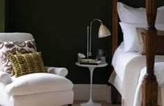end tables in a typical bedroom setup