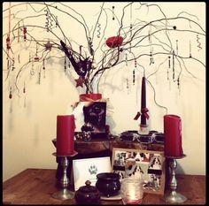 Altars:  Ancestor Altar.