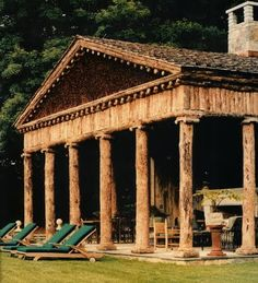 My very own Greek temple.