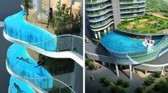Floating Balcony & Pool