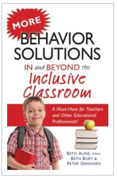 Worth Repeating: Book Review – More Behavior Solutions In and Beyond the Inclusive Classroom -  Pinned by @PediaStaff – Please Visit http://ht.ly/63sNt for all our pediatric therapy pins