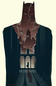Batman Film Trilogy Posters Done In The Style of Batman: The Animated Series