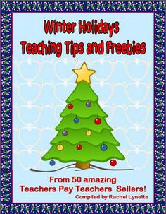 AWESOME Winter Holidays Tips and Freebies Ebook