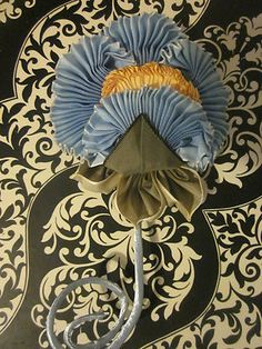 French Ombre Vintage Style Millinery Ribbon Flower Pin Holiday Sale 3 Days Only   eBay