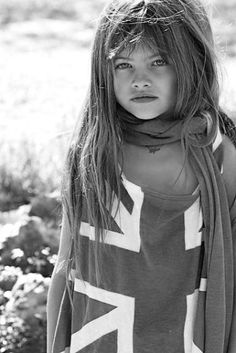c r y s t a l l o g r a p h y: Thylane Lena-Rose Blondeau.