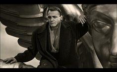 Der Himmel uber Berlin/Wings of Desire. (1987) Director: Wim Wenders..the angel Damiel (Bruno Ganz)