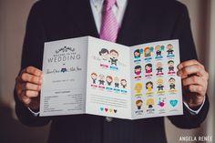best wedding programs... ever!