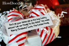 Neighbor Christmas Gift Idea #7 Paper Plates | How Does She...