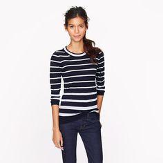 J.Crew Tippi sweater in multicolor stripe
