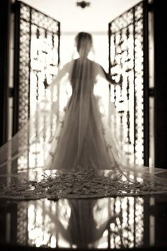 bride. love this shot
