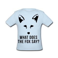 What Does The Fox Say? Baby Lap Shoulder T-Shirt | Spreadshirt | ID: 13426890