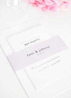 Modern Dots Wedding Invitation Suite!