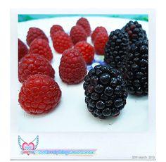 #Raspberries &#Blackberries#Yum :D