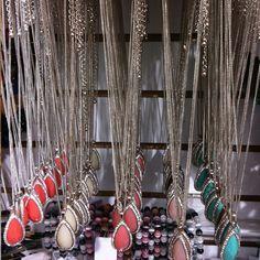 Teardrop Necklace + Earrings Sets