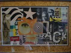 Nice Multimedia Pop Art from the 1960's.