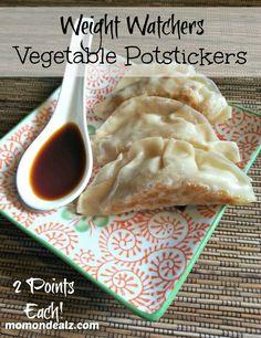 Weight Watchers Appetizer Recipes Weight Watchers Vegetable Potstickers