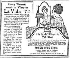 """Every Woman needs a Vibrator""    DAMN RIGHT!"