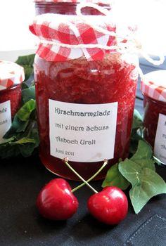 Cherry Jam with Asbach - original German recipe!