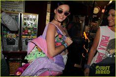 Katy Perry & Amber Heard: Johnny Wujek's Rollerskating Birthday Party!