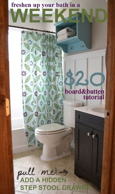 $20 Board and Batten Tutorial