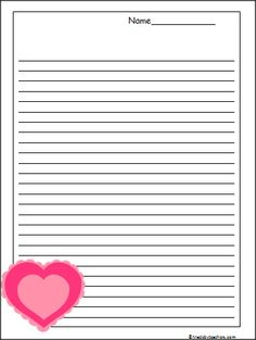 This is a set of 3 Valentine's Day penguin writing templates available ...