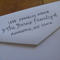 Address stamp!