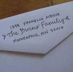 Address stamp!