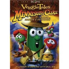 "Love this VeggieTales video!  An Indiana Jones-type character searches for ""Samson's hairbrush."""