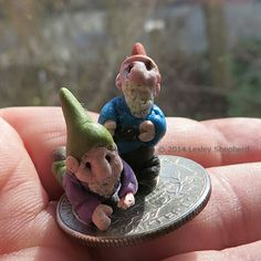 Miniature garden gnomes tutorial