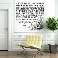 Christopher Robin.... always understood it