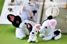 Amigurumi French Bulldog [Pattern from Ami Ami Dogs]