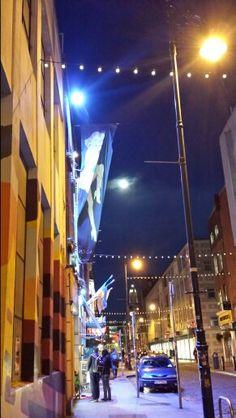 Dublin night temple bar
