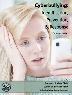 Cyberbullying Fact Sheet: Identification, Prevention, and Response < nine-page summary... to equip educators and parents to spot cyberbullying, respond to it appropriately and meaningfully, and to prevent its future occurrence among the children and teenagers they care for
