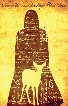 Harry Potter and the Half-Blood Prince print by Paul Slayton, via Behance
