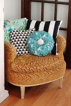DIY: pillows