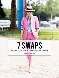 7 Simple Style Swaps to Update Your Wardrobe for Spring!