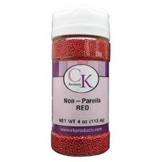 Love it!!    CK Products 3.8 Ounce Non Pareils Bottle, Red (Kitchen) http://www.amazon.com/dp/B0018AFQ0U/?tag=whit09b-20