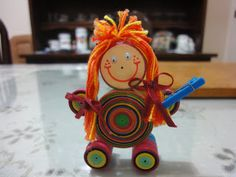 Doll 1 - by: Kyth Quilling -   http://kythquilling.blogspot.com/#